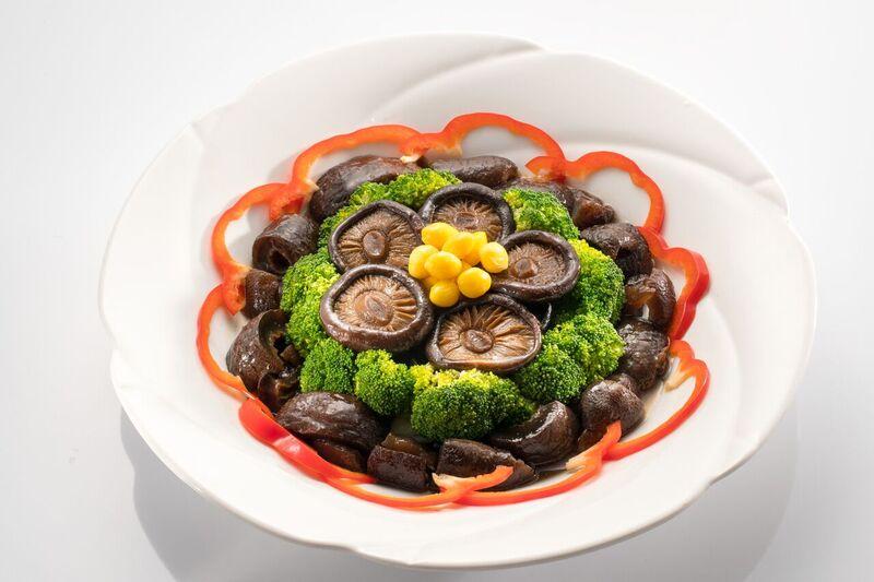 紅燒花菇燴烏蔘