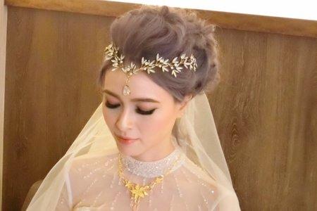 歐美女神Queen新娘-雯婷