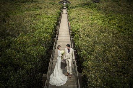 【草木攝影】綸&岑 綠活森林 日式建築