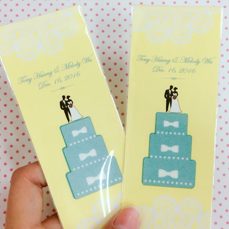7948b3169564 結婚蛋糕手機擦拭貼- 心幸福-手工客製婚禮小物- 結婚吧
