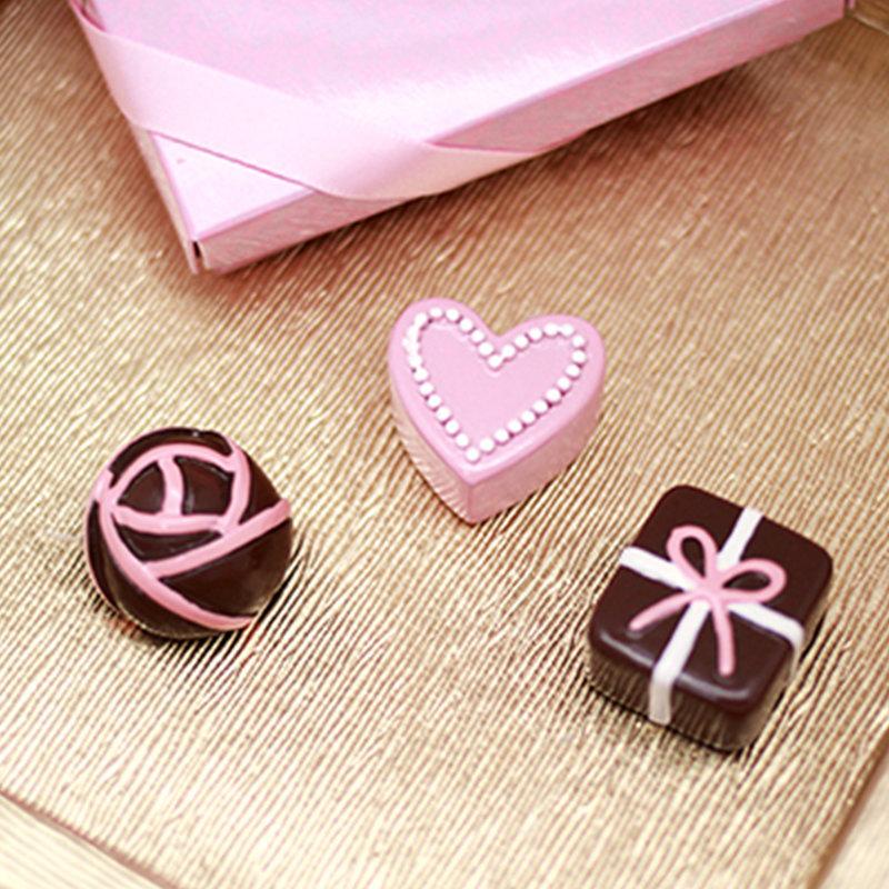 b20c161c47eb 巧克力造型磁鐵禮盒- 心幸福-手工客製婚禮小物- 結婚吧