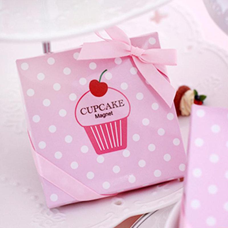 a09915803470 杯子蛋糕造型磁鐵禮盒- 心幸福-手工客製婚禮小物- 結婚吧