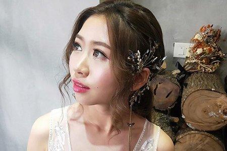 婚紗造型/桃園中壢新秘子歡/中壢新秘/桃園新秘/觀音新秘/細緻眼妝