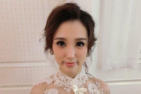 桃園/中壢/新秘推薦/新娘秘書/翻糖花園/Nancy