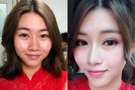 桃園/中壢/新秘推薦/新娘秘書/翻糖花園/Sammy