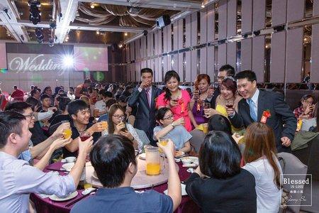 【台北婚攝】明翰&人婕 歸寧紀錄 @三重-彭園婚宴會館