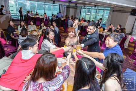 【基隆婚攝】伯榮&佳惠 宴客紀錄 @基隆-彭園婚宴會館