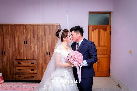 【台中婚攝】冠志&愉棻 文定迎娶紀錄 @台中-星時代婚宴會館