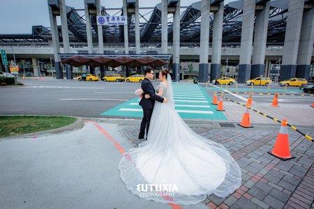 【台中婚攝】Ciou & Chi 結婚迎娶紀錄 @台中-儷宴會館