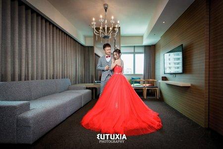 【台北婚攝】承恩&珮綸 文定迎娶紀錄 @新莊-海大王時尚婚宴會館宴客
