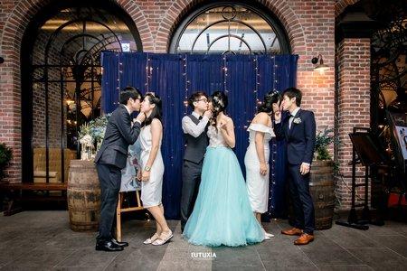 【台北婚攝】勁綸&令娃 宴客紀錄 @南港-金色三麥Citylink店