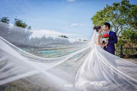 【桃園婚攝】羿鴻&沛恩 結婚迎娶紀錄 @桃園-福宴館宴客