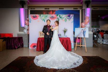 【宜蘭婚攝】建偉&綾堯 宴客紀錄 @羅東-金樽廣場宴客