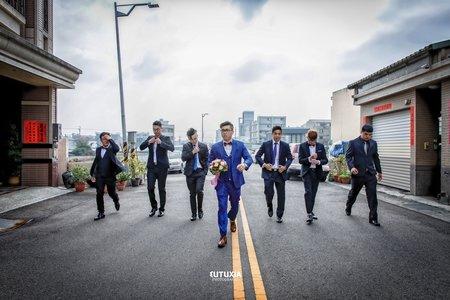 【台中婚攝】念哲&爵宇 文定迎娶紀錄 @台中-臻愛婚宴會館晚宴