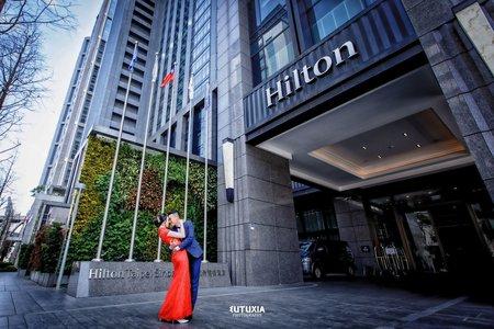 【台北婚攝】宇軒&育秀 文定迎娶紀錄 @板橋-希爾頓酒店宴客