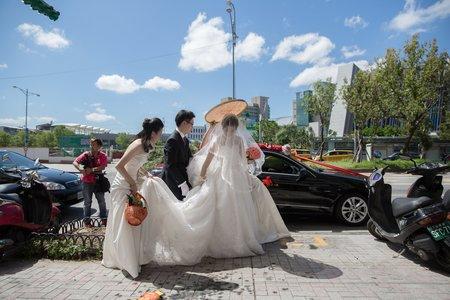 台北和璞飯店。結婚之喜