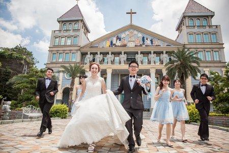 圓滿教堂 | 教堂證婚 | My Darling 寵愛妳的婚紗
