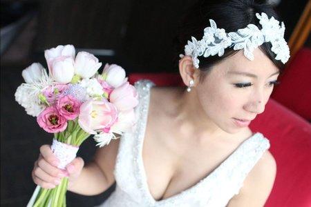 新娘芳結婚三造型