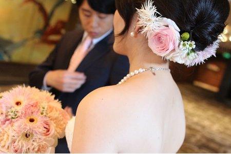 新娘伊玲結婚三造型