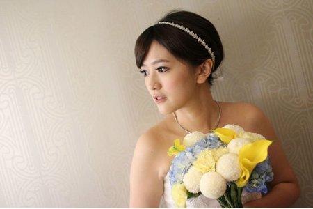 新娘瑾訂結婚四造型