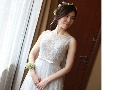 新娘庭結婚四造型&捧花設計