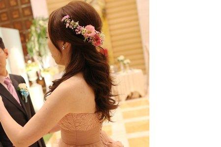 新娘穎結婚四造型