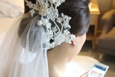 CHLOE新娘秘書(Iris結婚三造型分享)