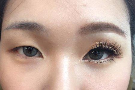 台中新密 新娘秘書 新娘眼型調整