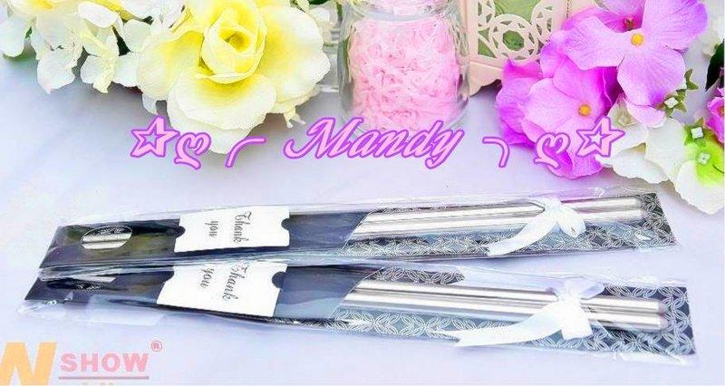 日式緞帶精緻款包裝鋼筷組(黑色)