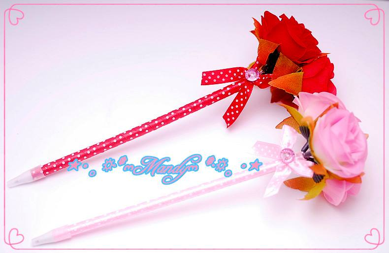 MIT生產製造仿真3朵玫瑰原子筆