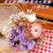 嚴選台灣當季盛產之新鮮花卉製作之韓式乾燥花卉花束與各式胸花訂製;亦可製作Swarovski珠寶捧花束,皆可視新人需求做修改喔~!