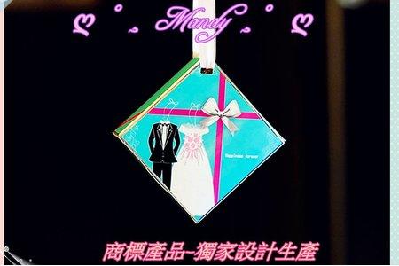 西式newly wed吊牌式囍米 ㊗️ 與中國風吊牌式囍米-最新2016~2017(蒂芬妮水藍綠)