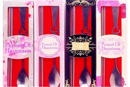 日韓混搭風格筷匙餐具禮盒組-婚禮小物/湯匙/筷子/湯勺/環保餐具/MIT商標產品-2015年設計開始生產