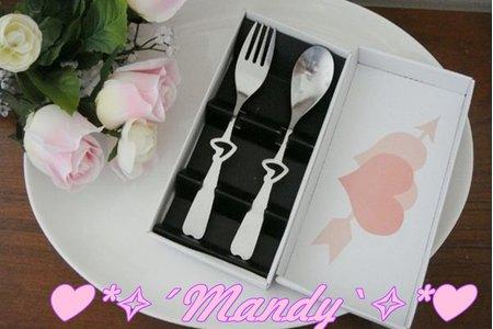 婚禮小物 ~抽獎 禮品 叉子 湯匙 湯匙