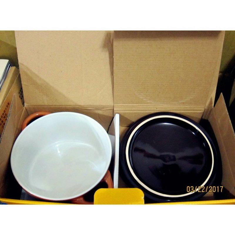 英國熊 陶瓷蓋碗買一送一
