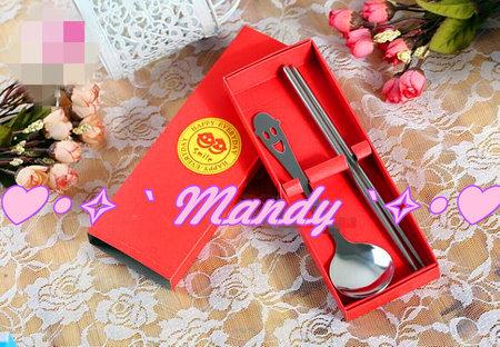 婚禮小物 活動贈禮 餐具組禮盒
