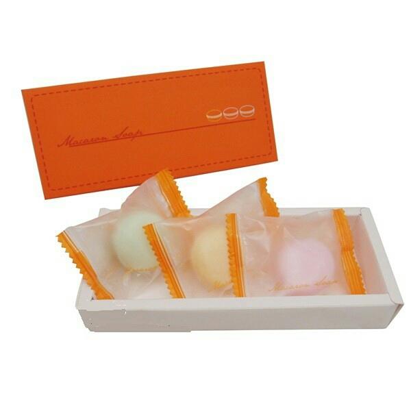 MIT甜蜜繽紛甜美馬卡龍3入香皂禮盒