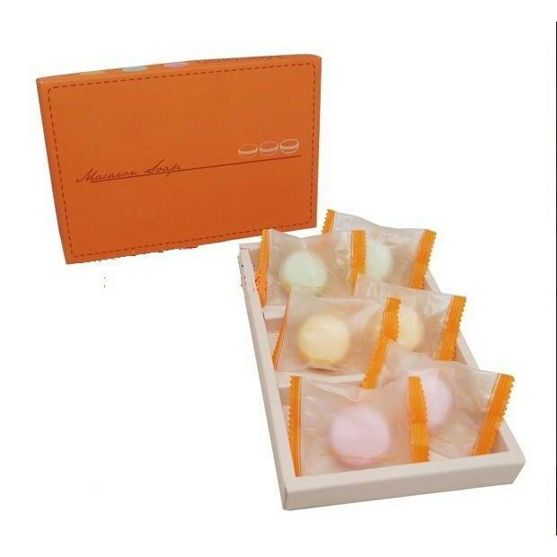 甜蜜MIT馬卡龍3入香皂禮盒