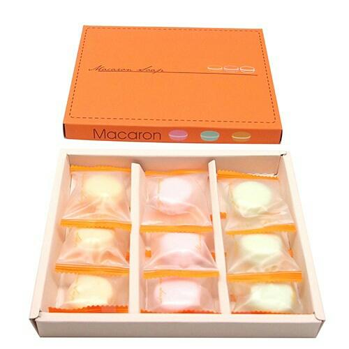 台灣自有品牌 繽馬卡龍9入香皂禮盒