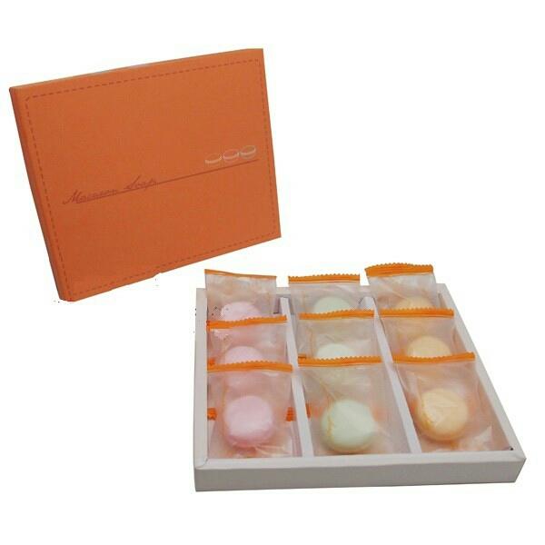 MIT生產製造 繽紛馬卡龍9入香皂禮盒