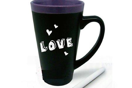 愛的留言版馬克杯 可書寫 杯組 附留言筆