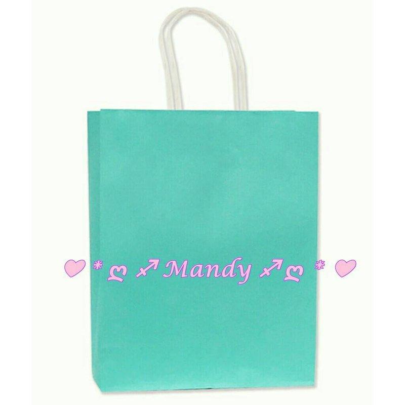 MIT製優質蒂芬妮水藍綠色禮品袋-中號