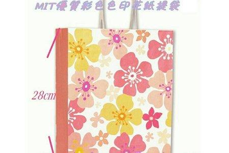 台灣140P優質日式和風印花提袋 禮盒用