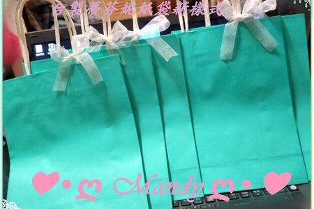現貨台灣製-蒂芬妮水藍綠提袋直式與橫式