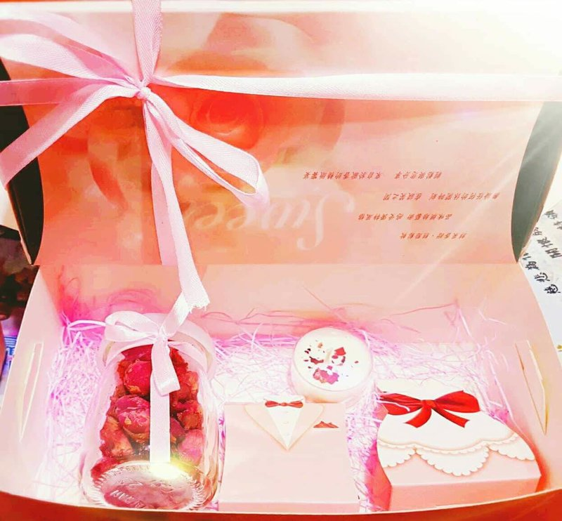 玫瑰花茶禮盒
