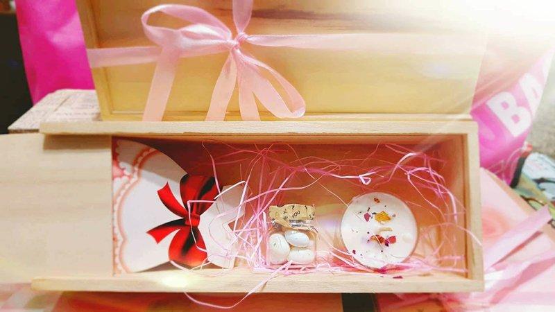 木盒禮盒喜糖盒可換手工香皂