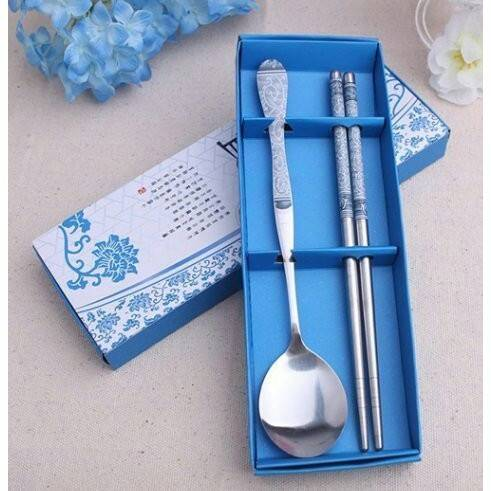 筷子 勺子 湯匙 環保餐具組