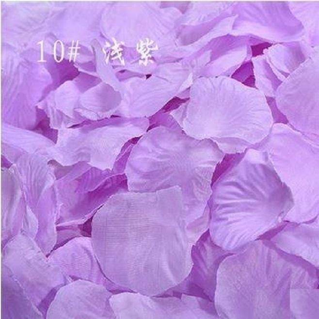 ? 絲布與絹布現貨仿真花瓣-淺紫色?