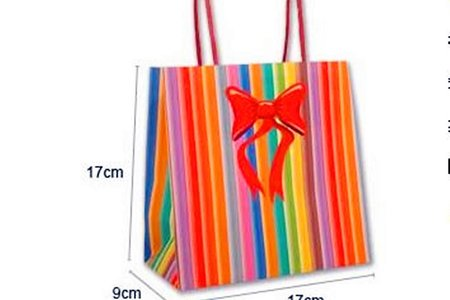 5款討喜小禮物袋 紅色喜氣素色雙面禮品袋