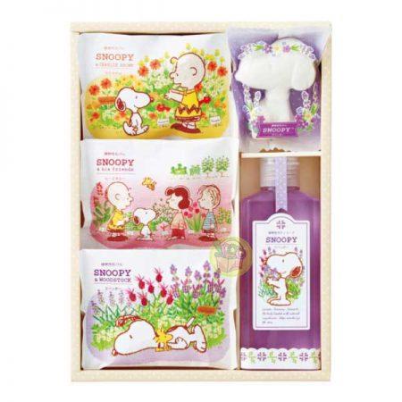 日本製 迪士尼人物造型香皂禮盒~史努比
